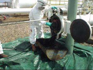 Toxic stuff in the sludge